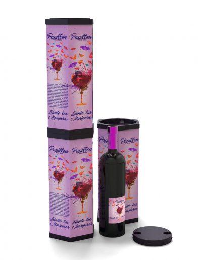 estucheria-hexagonal-vino-apiladas